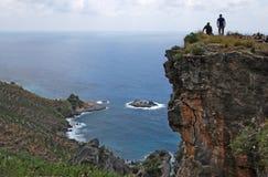 Обозревать Средиземное море Стоковое Изображение