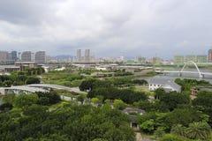 Обозревать yuanboyuan парк Стоковое фото RF