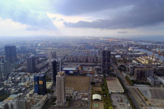 Обозревая город kaohsiung Стоковое фото RF