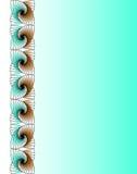 обои абстрактной фрактали вертикальные Иллюстрация штока