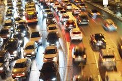обои вектора движения варенья автомобилей асфальта безшовные Стоковое Изображение