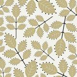 обои вектора листьев Стоковое Изображение RF