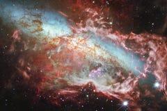 Обои, галактики и межзвёздные облака космоса научной фантастики во внушительном космическом изображении Элементы этого изображени стоковые изображения rf