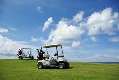 обои гольфа Стоковое Изображение