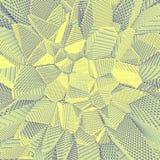 Обои глубины пиксела Стоковая Фотография