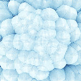 Обои глубины пиксела Стоковые Изображения