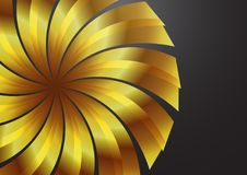 обои золота s цвета предпосылки Стоковая Фотография