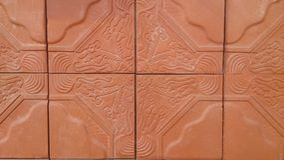 Обои и предпосылки текстуры кирпичей Брайна Стоковая Фотография RF