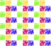 Обои красочных бабочек сердца безшовные Стоковое Изображение