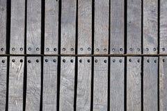 Обои планки старого дока деревянные Стоковое Изображение RF