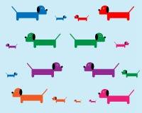 Обои предпосылки собаки Стоковая Фотография RF