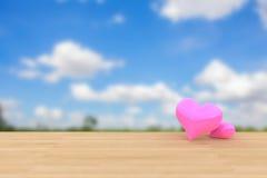 Обои предпосылки валентинки Стоковые Изображения RF