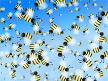 обои пчелы Стоковые Фото