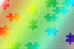 Обои радуги градиента, сравнивая цвета, влияние головоломки Стоковые Изображения RF