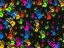 обои рук Стоковое Изображение RF