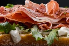Обои сандвича Стоковые Изображения