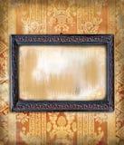 обои сбора винограда рамки стиля Арт Деко деревянные Стоковое Фото