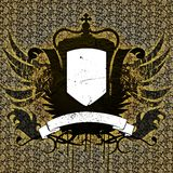 обои сбора винограда heraldry стоковая фотография