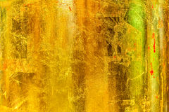 Обои текстуры золота Стоковые Изображения RF