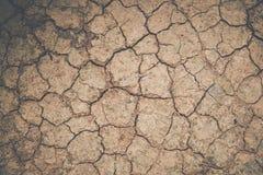 Обои, треснутая почва Стоковая Фотография