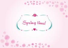 Обои тюльпанов цветка весны Стоковое Изображение