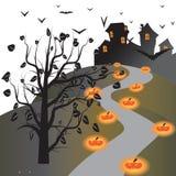 Обои хеллоуина Стоковая Фотография
