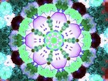 Обои цветка флористические иллюстрация вектора