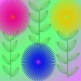 Обои цветка Стоковые Изображения