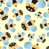 Обои шаржа пчелы бесплатная иллюстрация