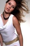 обольстительная сексуальная женщина Стоковые Фото