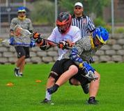 оборачиваемость lacrosse chumash шарика Стоковые Изображения