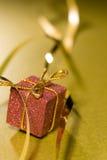 оборачивать тесемки элемента конструкции рождества Стоковое Фото