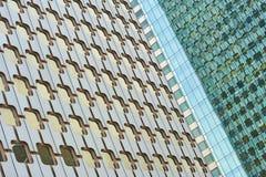 Оборона Париж Ла и зона предпринемательства и архитектура Стоковое Изображение