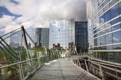 оборона самомоднейший paris здания Стоковое Фото