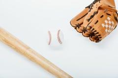 Оборудование бейсбола Стоковые Изображения