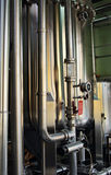 оборудование винзавода самомоднейшее Стоковая Фотография