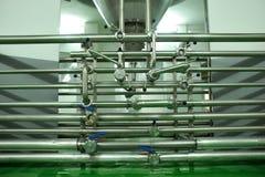 оборудование винзавода Стоковые Фотографии RF