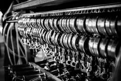 Оборудование винодельни в заказе Стоковое фото RF
