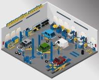 Оборудование для автомобильного обслуживания стоковые изображения