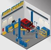 Оборудование для автомобильного обслуживания стоковое фото rf