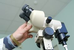 Оборудование для gastroscopy стоковое изображение