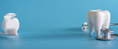 Оборудование зубоврачебной концепции здоровое оборудует профессионала зубоврачебной заботы Стоковые Фото