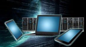 Оборудование интернет-связи иллюстрация вектора