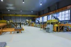 Оборудование магазина завальцовки металла стоковое фото rf