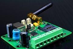 Оборудование связиста GSM с антенной GSM Стоковое фото RF