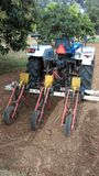 Оборудование установки урожая стоковое изображение rf