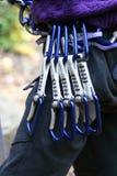 оборудование alpinist Стоковая Фотография RF