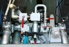 оборудование Anti-пожара - прибор для воды и пены Стоковые Фото