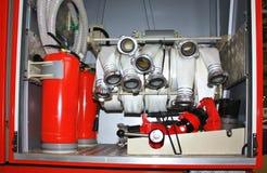 оборудование Anti-пожара - прибор для воды и пены Стоковые Изображения RF