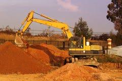 оборудование earthmoving Стоковая Фотография RF